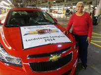 GM Invests $50M In Next-Gen Cruze Plant