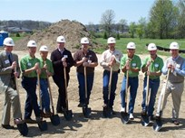 Smith Dairy Trucking Breaks Ground for CNG Fueling Island