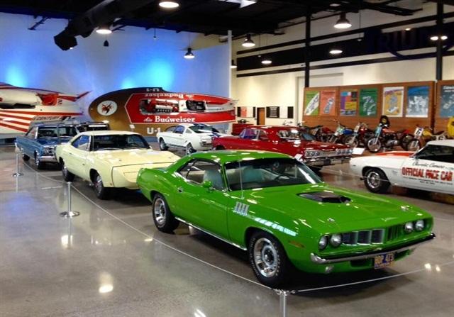 World of Speed Museum, Wilsonville, Ore., (Photo: Lauren Fletcher)