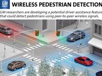 GM Developing Wireless Pedestrian Detection Technology
