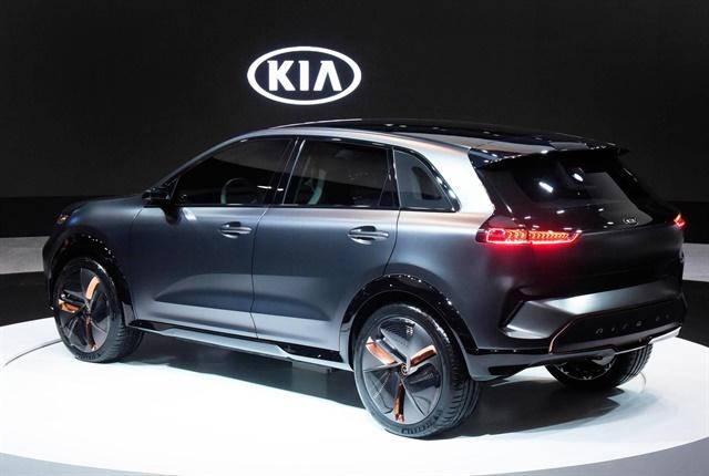 Photo of the Niro EV Concept courtesy of Kia.