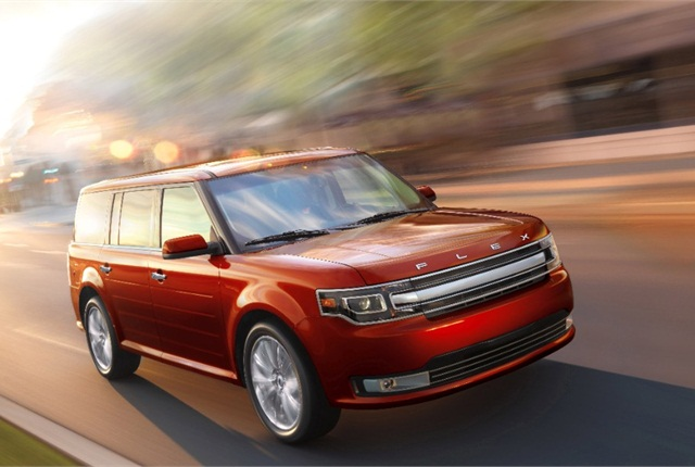 Photo of 2014 Ford Flex courtesy of Ford.