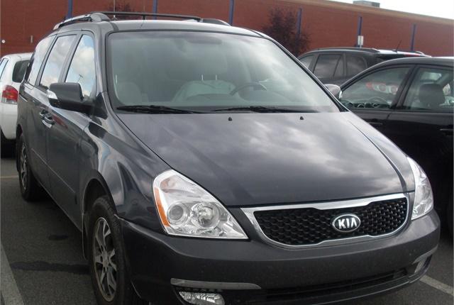 kia recalls sedona minivans for hood latch news. Black Bedroom Furniture Sets. Home Design Ideas