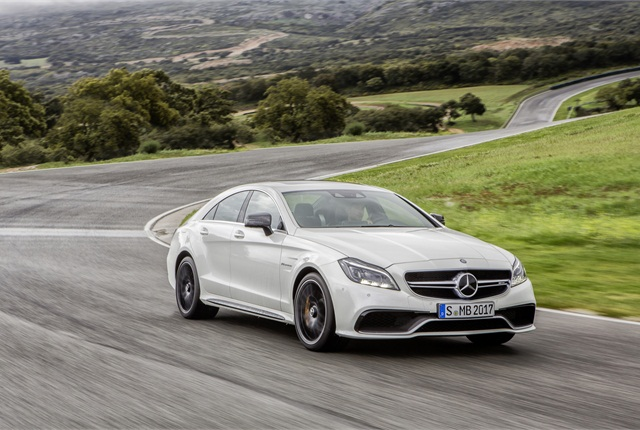 Photo of 2015 CLS-Class courtesy of Mercedes-Benz USA.