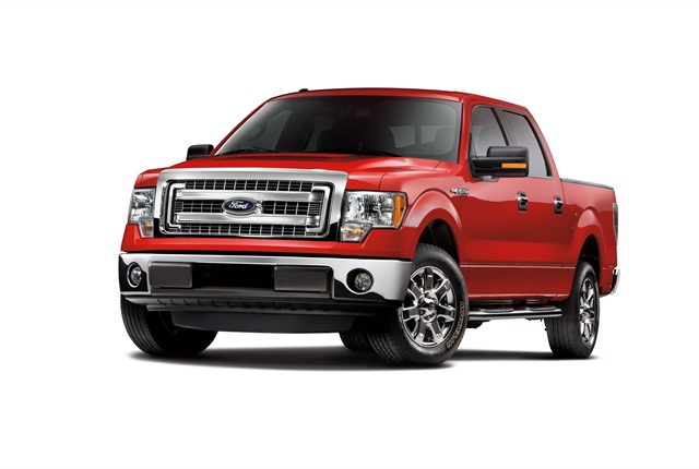 Photo of MY-2014 F-150 courtesy of Ford.