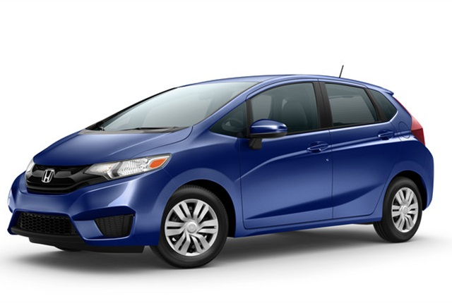Photo of Honda Fit LX car courtesy of Honda.