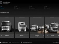 Mercedes-Benz Improves Truck Configurator in Europe