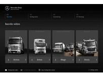 Mercedes-Benz Improves Truck Configurator in Europe