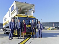 Natural Gas Unimog Delivered to Vienna International Airport