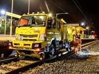 Fuso Canter 4X4 Joins British Rail