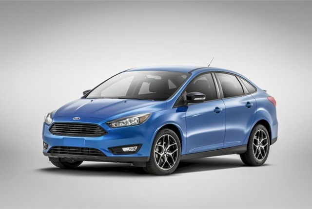 Photo of the 2015 Ford Focus courtesy of Ford.
