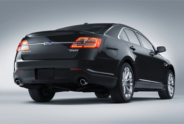 Photo of Ford Taurus courtesy of Ford.