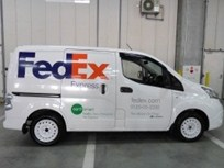 FedEx Adds Two Nissan Electric Vans in Japan