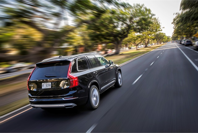 Photo of Volvo XC90 courtesy of Volvo.