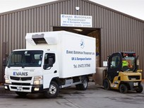 British Hauling Company Adds Fuso Hybrid Truck to Fleet