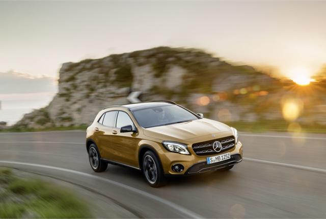 Photo of Mercedes-Benz GLA courtesy of Daimler.