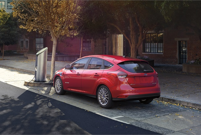 Photo of Ford Focus Electric courtesy of Ford.