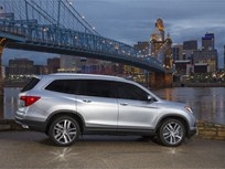 2016 Honda Pilot Earns 5-Star Safety Rating