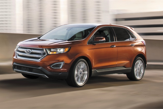 Photo Of Ford Edge Courtesy Of Ford