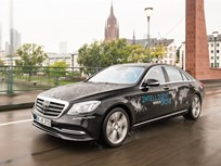 Mercedes-Benz Tests Autonomous S-Class in Australia