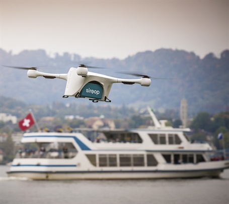 Project aims to synchronize drone fleets with vans so that they will not have to travel to a rendezvous point.