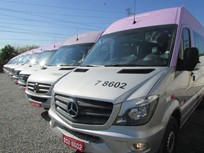 Daimler Delivers 72 Sprinters to Brazil Transportation Service