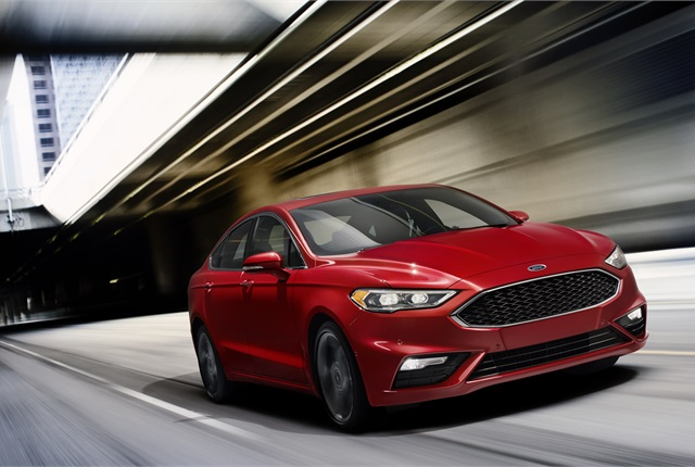The 2017 Ford Fusion, photo courtesy of the automaker.
