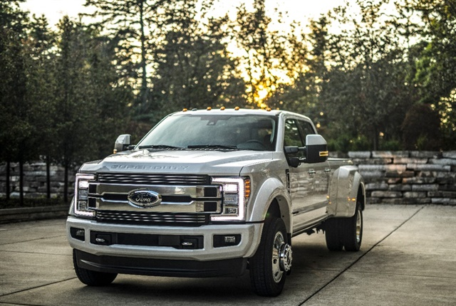 Photo Super Duty pickup courtesy of Ford.