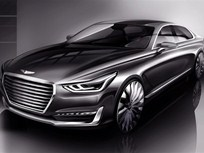 Genesis Brand Announces First Luxury Sedan
