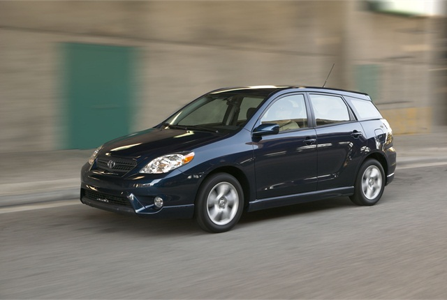The 4 millionth Toyota CPO vehicle sold was a Toyota Matrix. The Matrix was discountinued in the U.S. in August of 2013.
