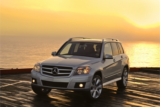 Photo of Mercedes-Benz GLK350 4Matic courtesy of Mercedes-Benz.