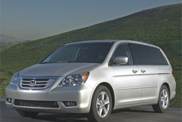 2010 Honda Odyssey. Photo courtesy of Honda.