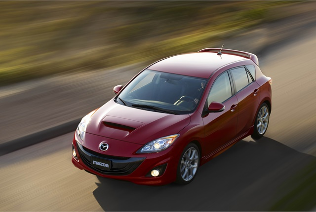 Photo of Mazdaspeed3 courtesy of Mazda.