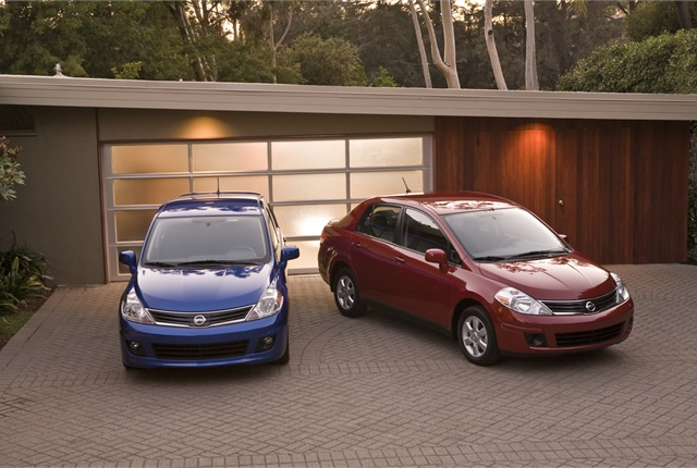 <p><em>Photo of Nissan Versa cars courtesy of Nissan.</em></p>