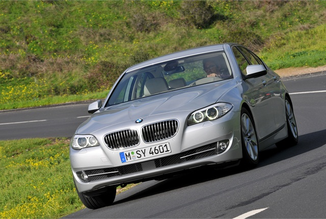 Photo of 2012 BMW 528i courtesy of BMW.