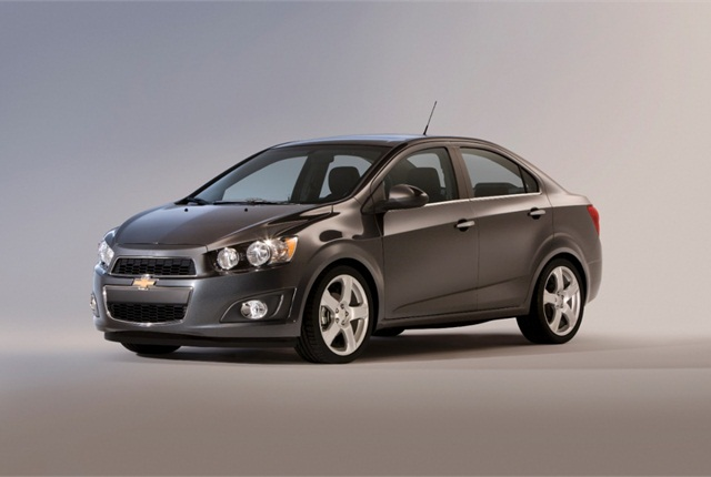 Photo of 2012 Chevrolet Sonic courtesy of General Motors.