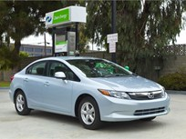 Honda's 2012-MY Civic Natural Gas Gets 10.7% Fuel Economy Boost