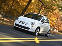 New 2012 Fiat 500 Named Top Safety Pick by IIHS