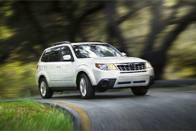 Photo of 2012 Subaru Forester courtesy of Subaru of America.