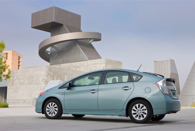 Photo of Toyota Prius Plug-in Hybrid car courtesy of Toyota.