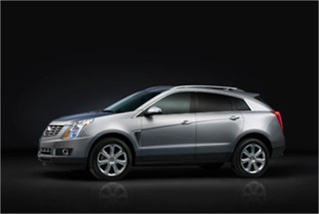 Photo of 2013 Cadillac SRX courtesy of General Motors.
