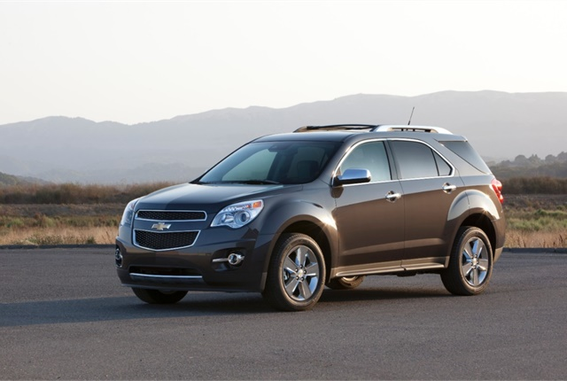 Photo of Chevrolet Equinox courtesy of General Motors.