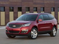 GM's 2013-MY Chevrolet Traverse Features New Safety Tech, New Exterior and Interior