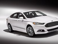 2013-MY Ford Fusion Named IIHS Top Safety Pick