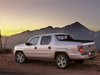 2013-MY Honda Ridgeline Truck Arrives With Standard Rearview Camera