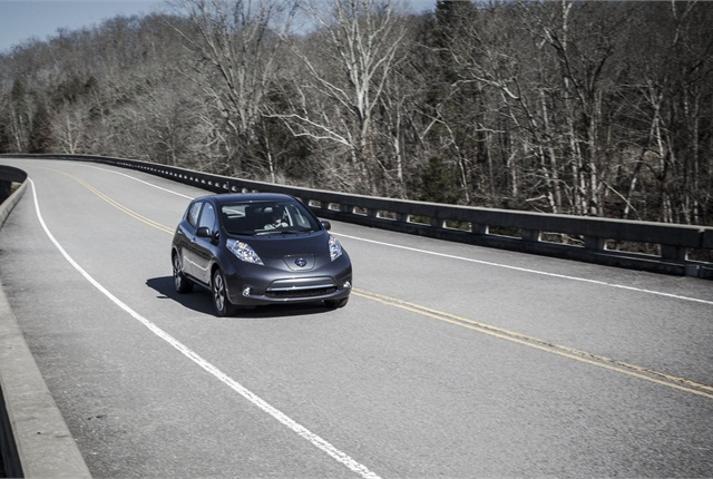 The Nissan LEAF battery protecion program will ensure that the battery can maintain a set level of charge. Photo courtesy Nissan.
