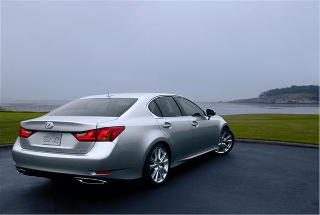 Photo of 2013 Lexus GS 350 sedan courtesy of Toyota.