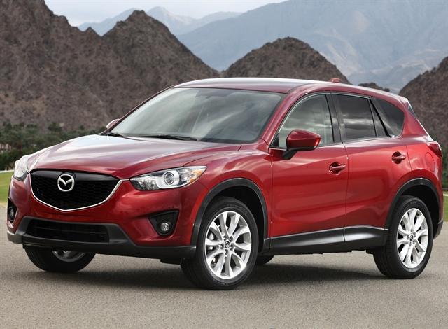 Mazda S Cx 5 Suv To Get Mpg Of 26 City 33 Highway Top