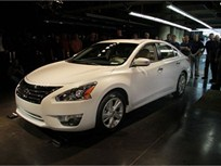 First New 2013-MY Nissan Altima Rolls Off the Assembly Line in Tennessee