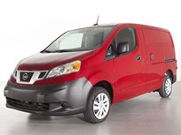 Nissan Shows 2013 NV200 Cargo Van in Chicago, Reveals Fuel Economy and MSRP